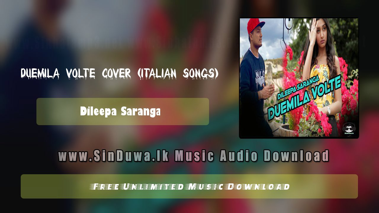 Duemila Volte Cover (Italian Songs)