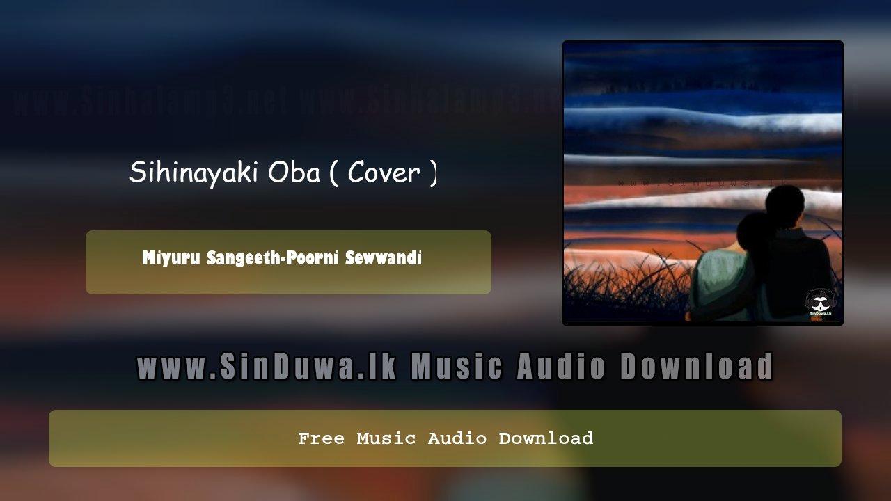 Sihinayaki Oba ( Cover )