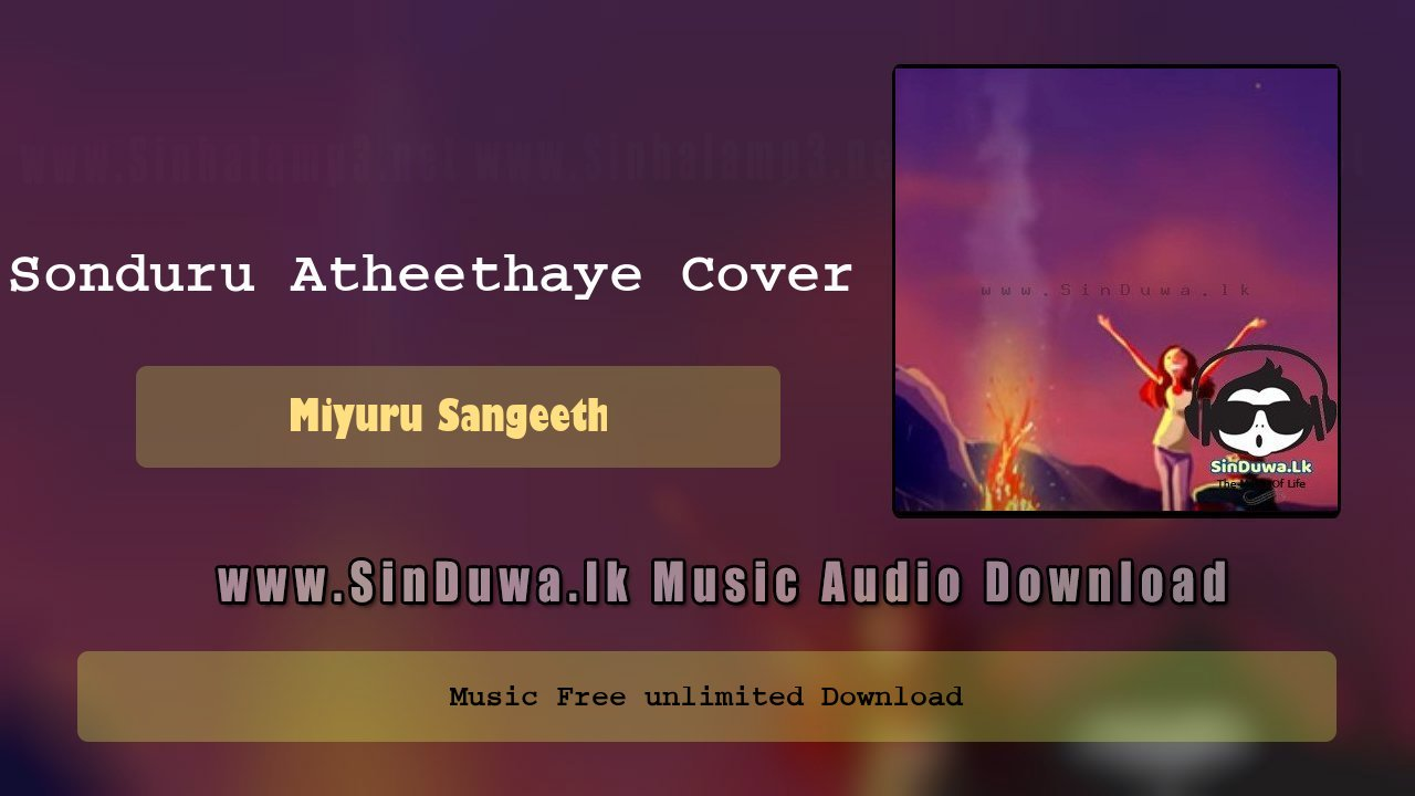 Sonduru Atheethaye Cover