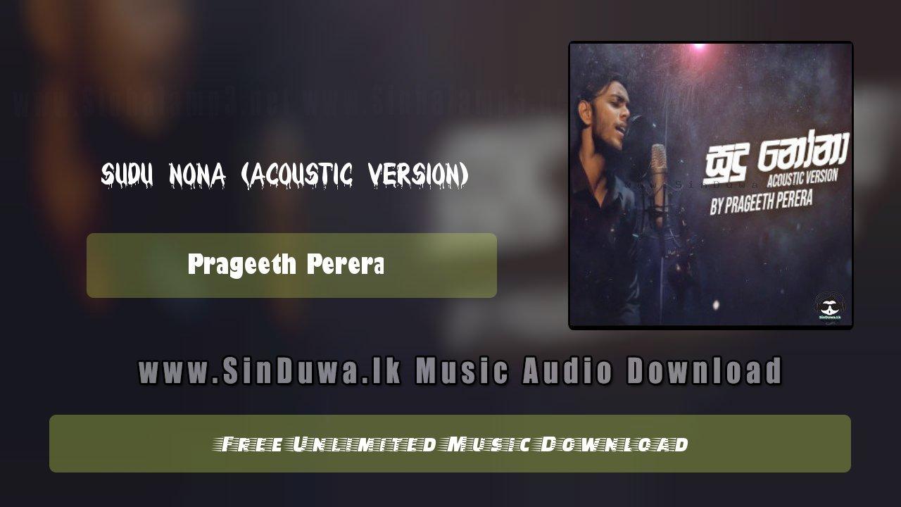 Sudu Nona (Acoustic Version)